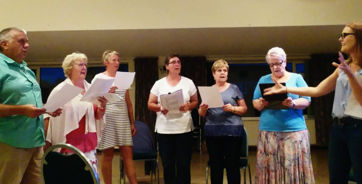 Singing Workshops Shropshire, Cheshire and Staffordshire.