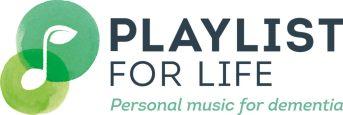 Logo playlist for life dementia