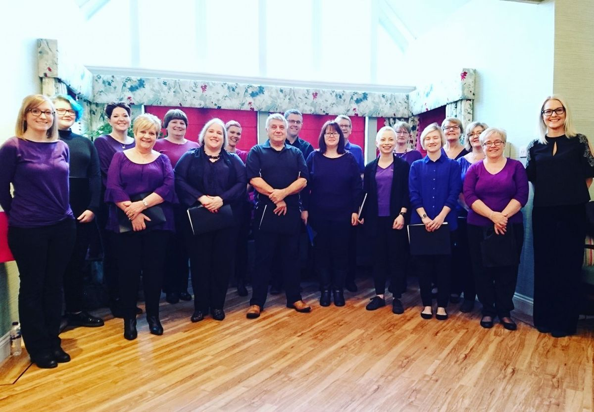 Singing Choirs Crewe Choir Leader