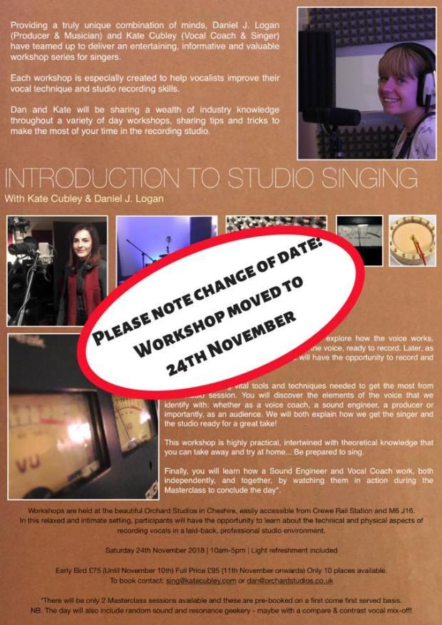 Dan J Logan, Kate Cubley, Voice, Sound, Musicians