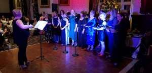 Choir Singing at Christmas Cabaret