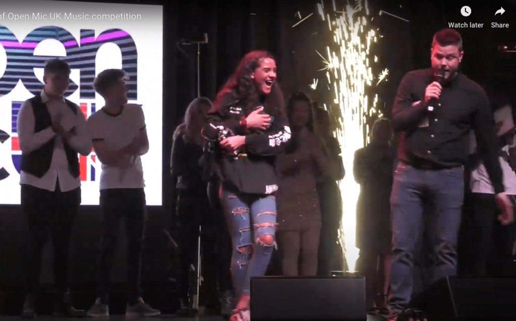 Leah Turay wins open mic 2020